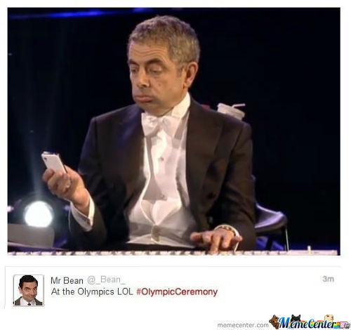Mr Bean Actually Tweeted That.