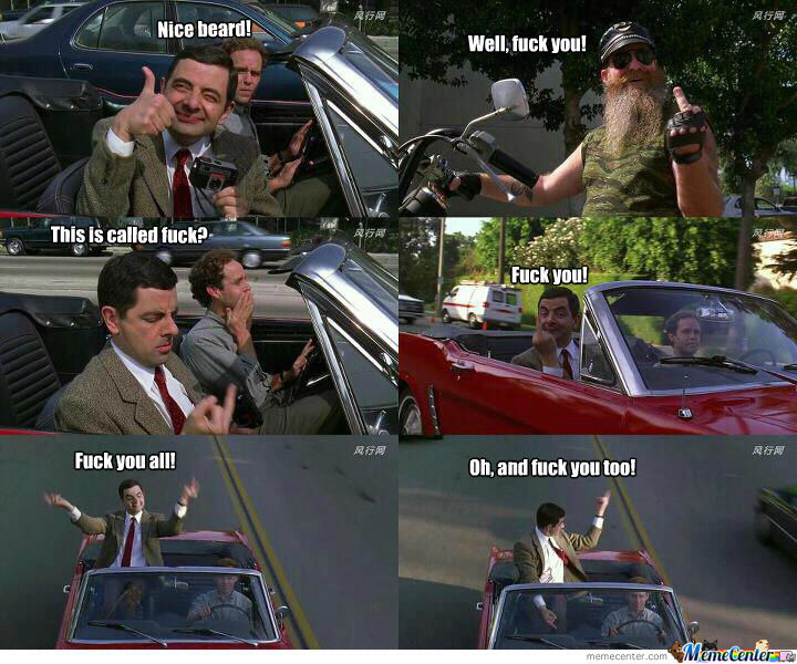 Mr. Bean, F/ck You All!