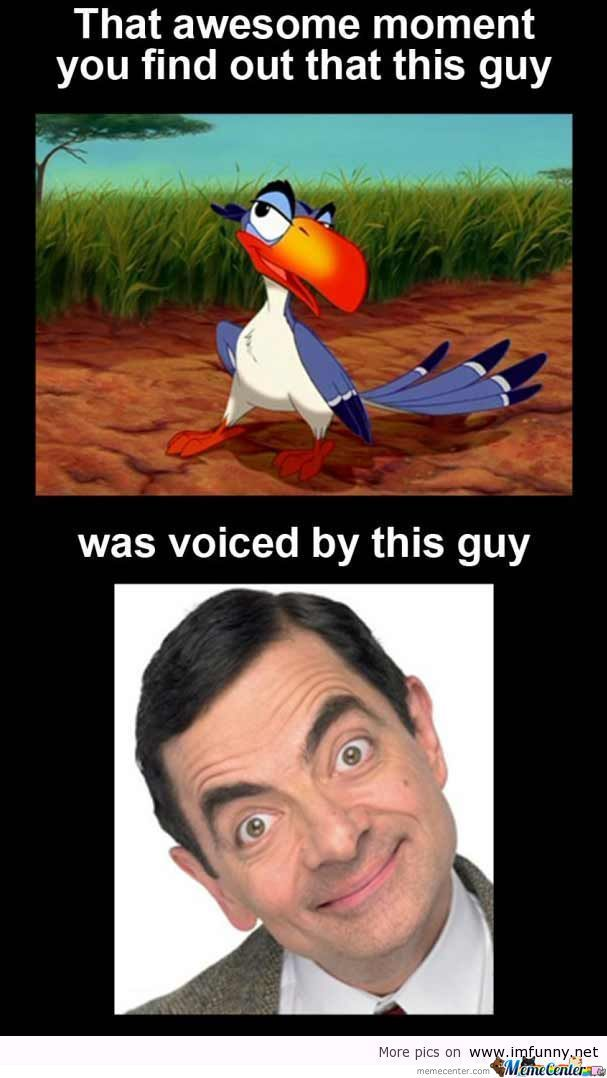 Mr. Bean In The Lion King