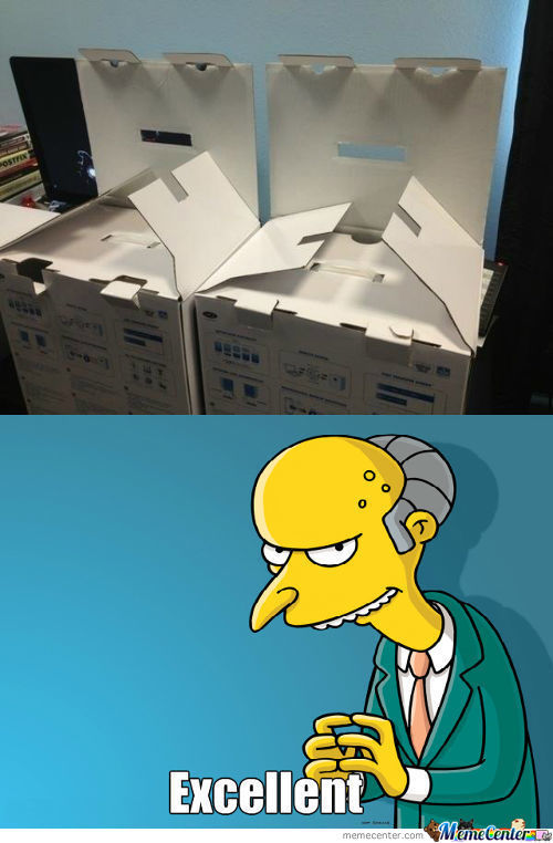 Mr. Burns Approves