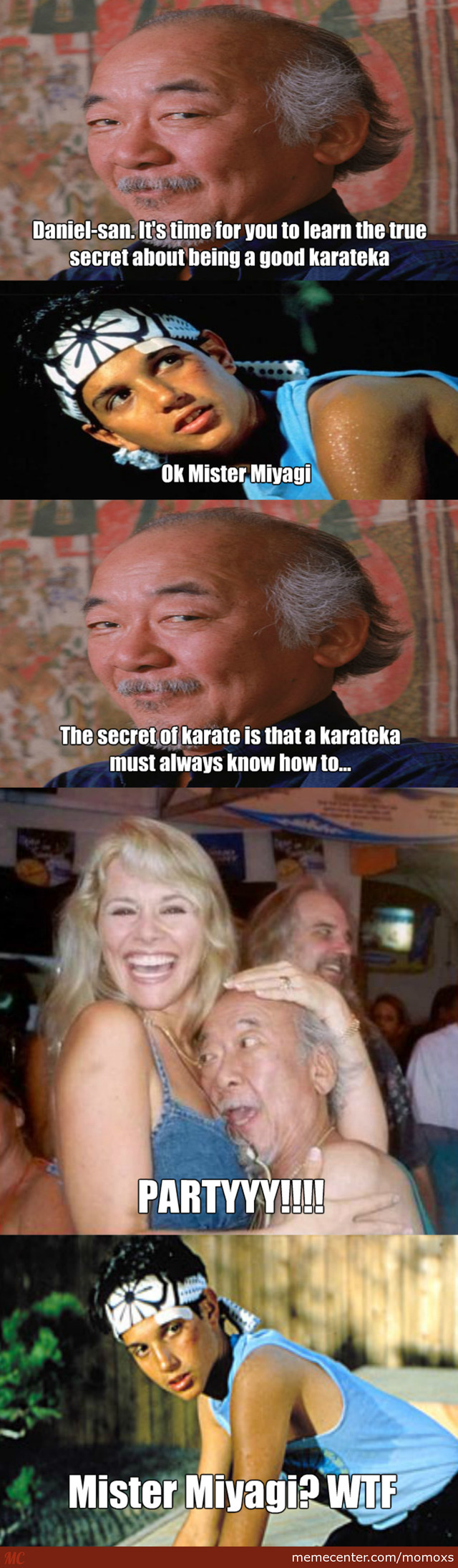 Mr. Miyagi's True Secret About Karate