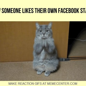Mrw Someone Likes Their Own Facebook Status by nomeda - Meme