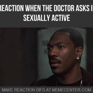 mrw the doctor asks if i amp 039 m sexually active_fb_3325161 mrw the doctor asks if i'm sexually active by myreactionwhen