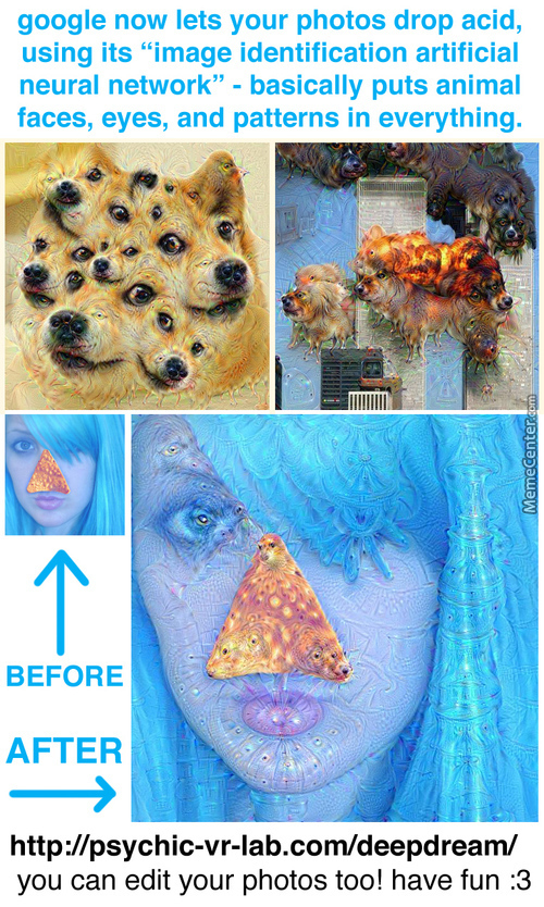 Much Wow. Such Deep Dream Dorito Illuminati 9-11 Jet Fuel Can't Melt Steal Beams But Google Can.