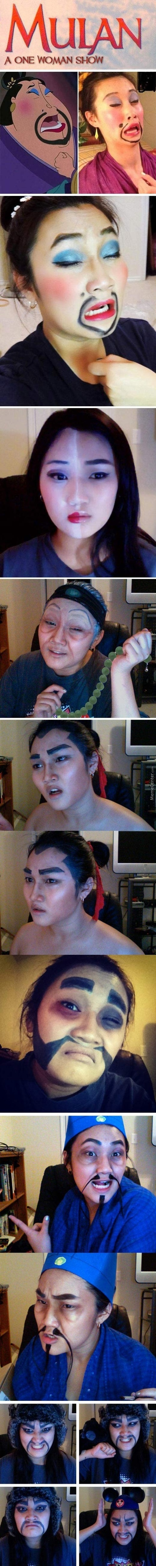 Mulan And The Wonders Of Makeup