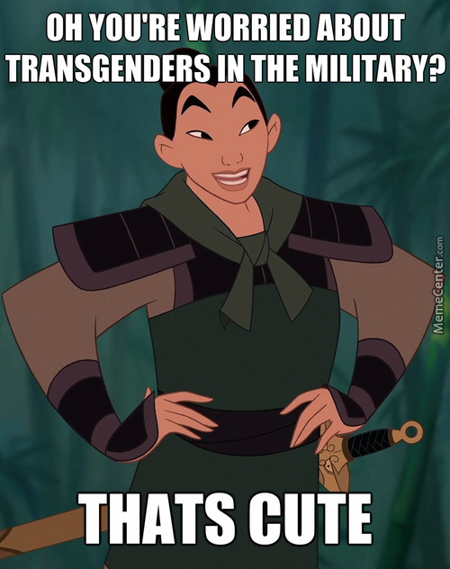 Mulan Did It Before It Was Cool