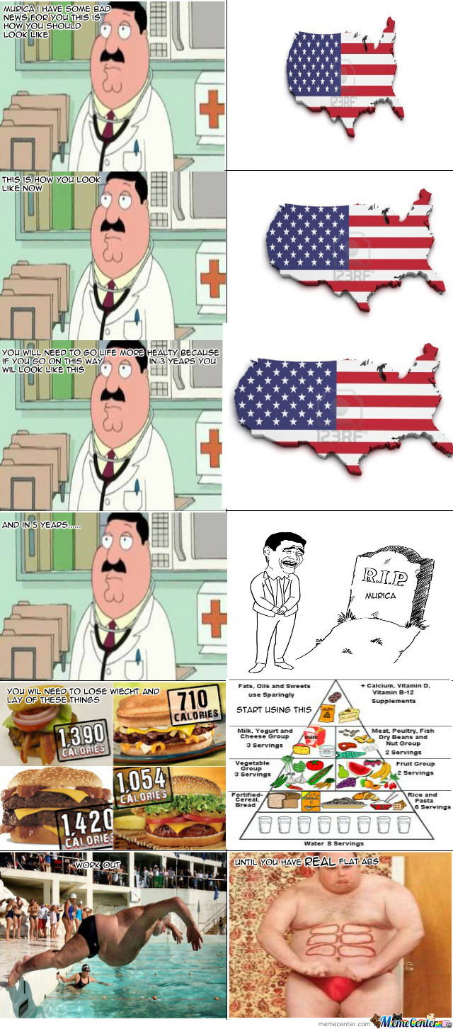 Murica Needs To Work Out