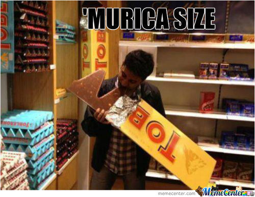 'murica Size