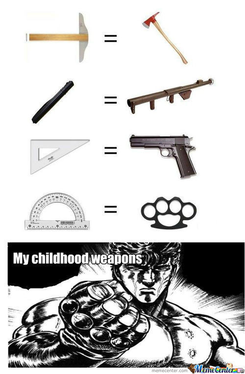 My Childhood Weapons