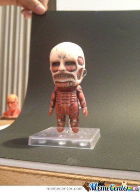 My Colossal Titan Can't Be This Cute ..