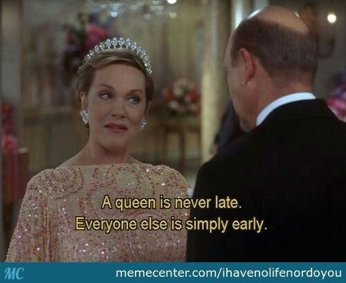 My Excuse When I'm Late
