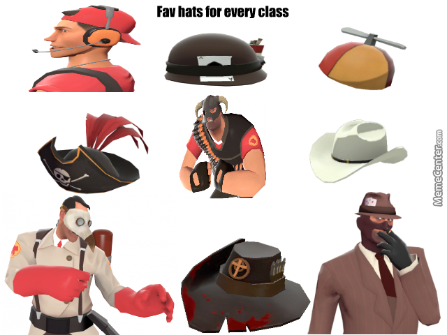 my favorite tf2 hats by screwyouimscout meme center