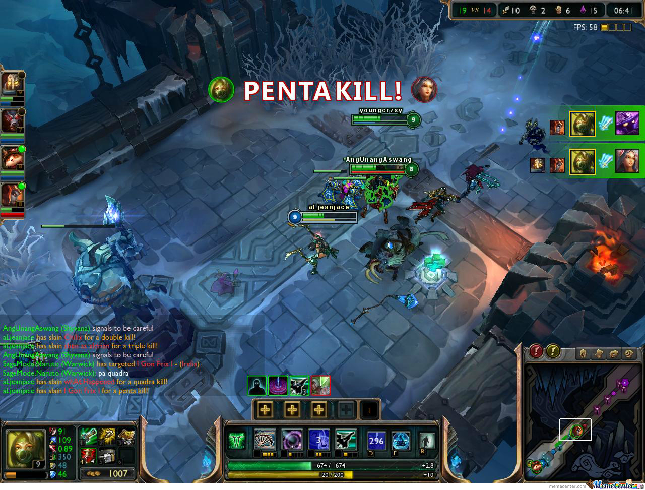 My First Penta Kill