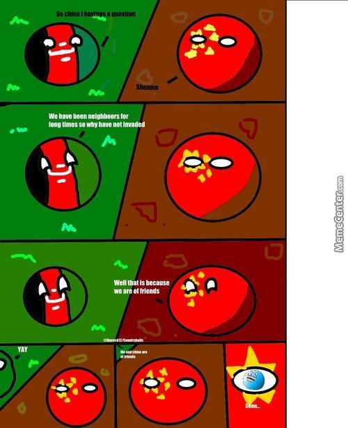 My First Polandball Comic And Yes I Know Its Rough