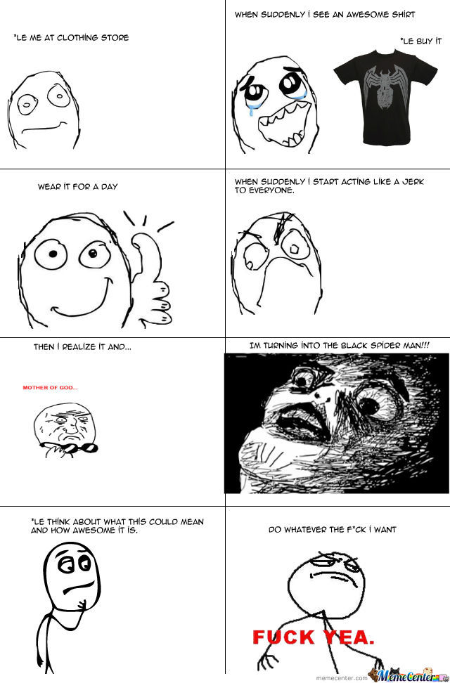My First Rage Comic (Super Funny)