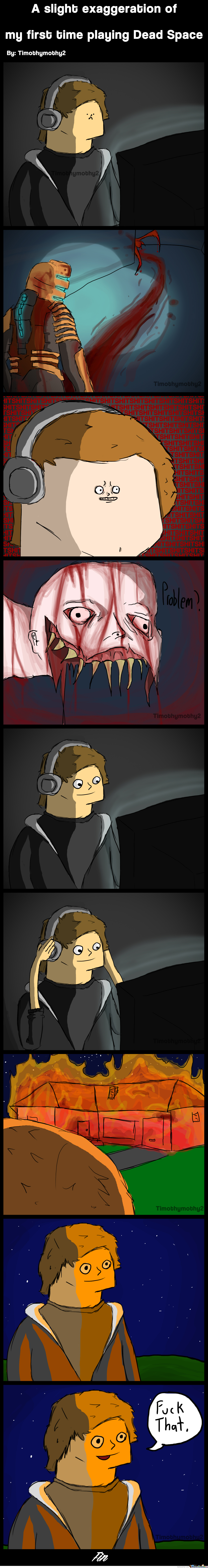 My First Time Playing Dead Space