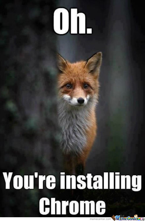 My Friend Sent Me This Knowing I Love Foxes. Now I Just Feel Guilty…