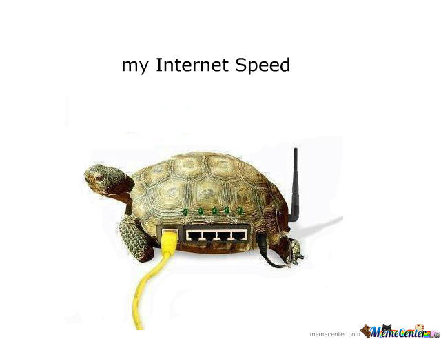 how to tell the speed of my internet