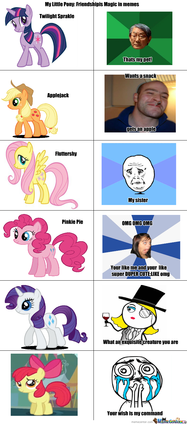My Little Pony In Memes