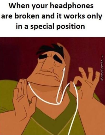 my my arm it hurts so much argh_o_7108511 headphones memes best collection of funny headphones pictures