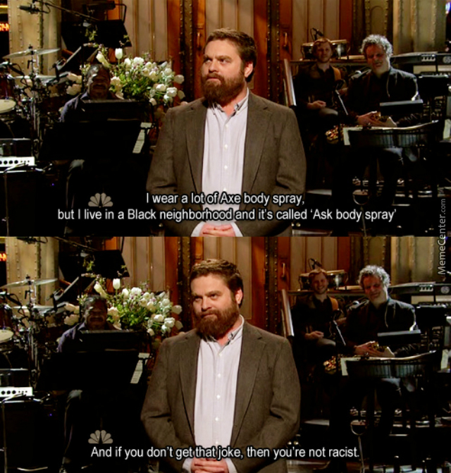 My Name Is Zach Galifianakis... And I Hope I'm Pronouncing That Right