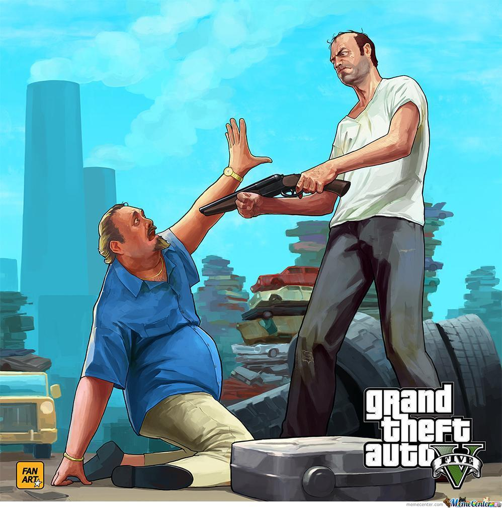 My New Fan Art For Gta 5 By Imburkey