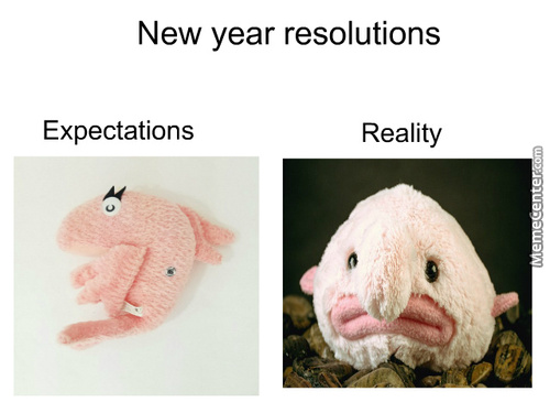 My New Year Resolution Is Not Make A Resolution