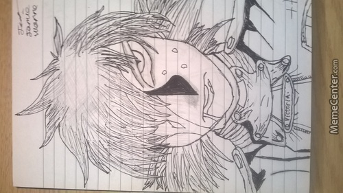 My Old Seras Drawing.