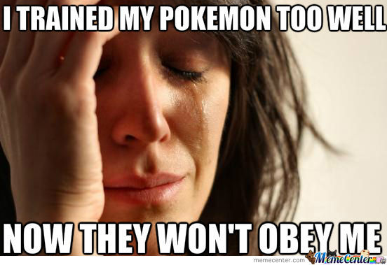 My Pokemon Are Too Strong