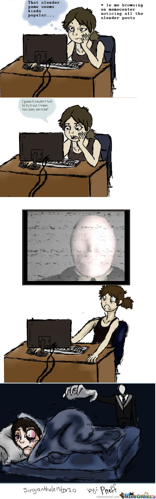 My Reaction To Slender