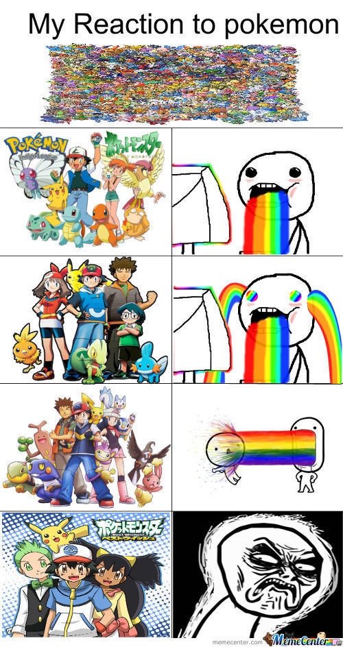 My Reaction When I Saw The New Pokemon Show