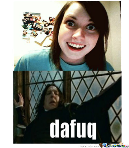 My Reaction When I See Overly Attached Girlfriend