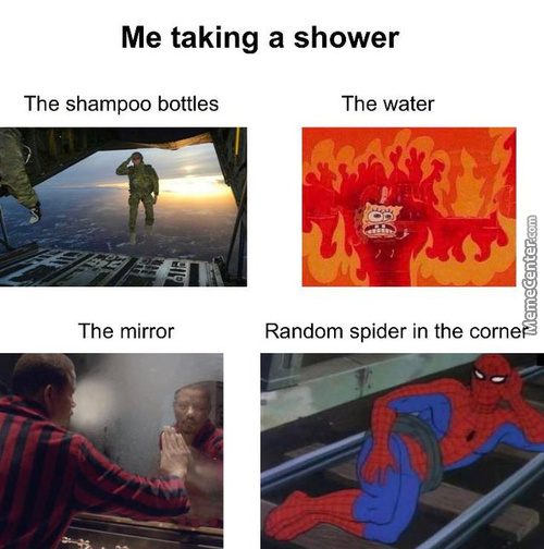 My Shower Routine