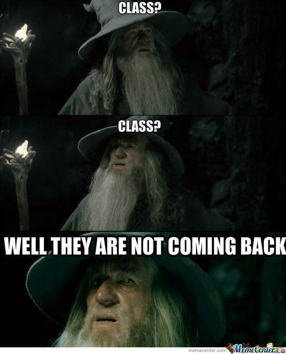 My Teacher's Reaction When He Is Five Minutes Late For A Lesson