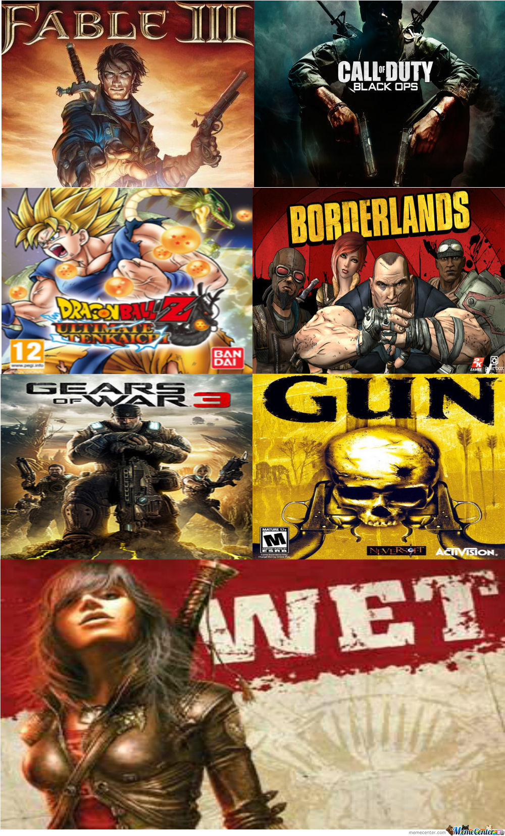 My Top 7 Favorit Games