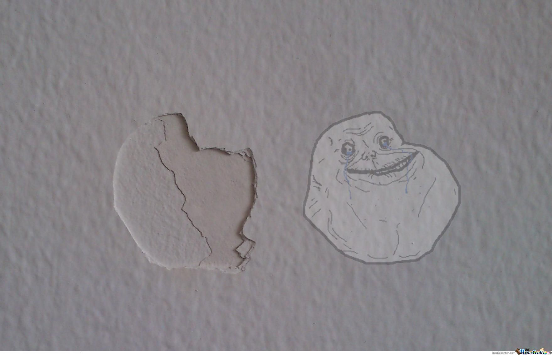 My Wall Forever Alone By Elmo Meme Center