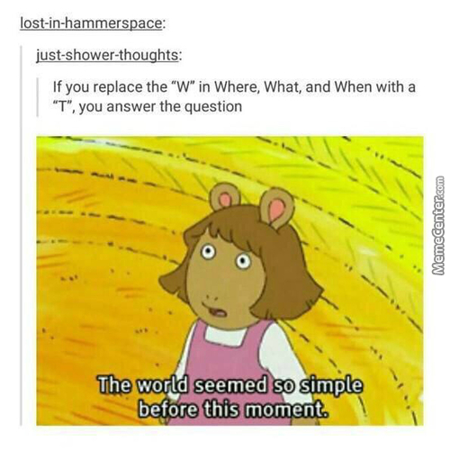 My Whole Life Was A Lie