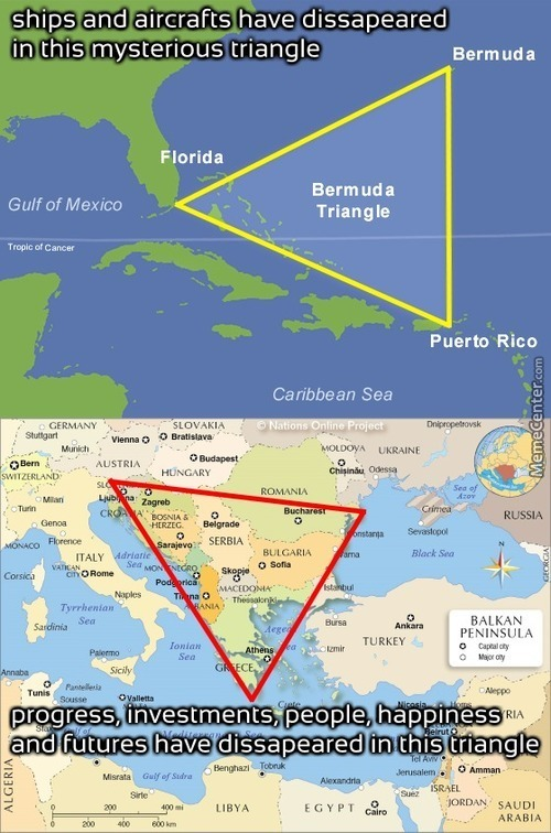 Mysterious Triangles Around The World