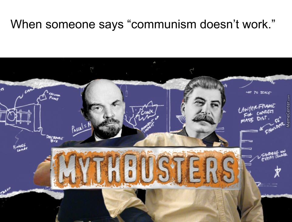 Mythbusters Bust Bourgeoisie Too