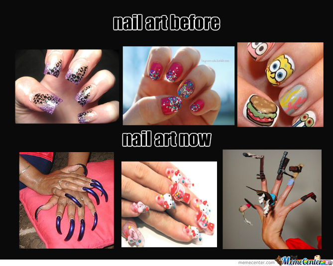 Nail Art By Penttiseta Meme Center