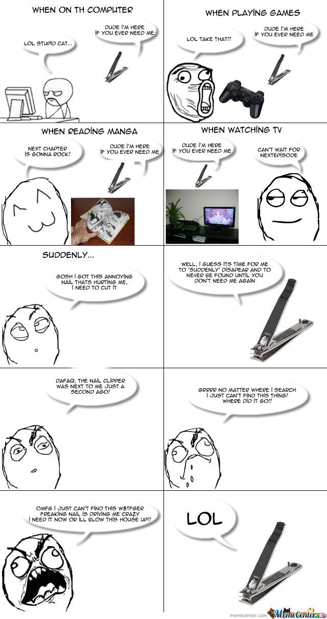Nail Clippers...
