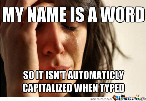 Name Problems