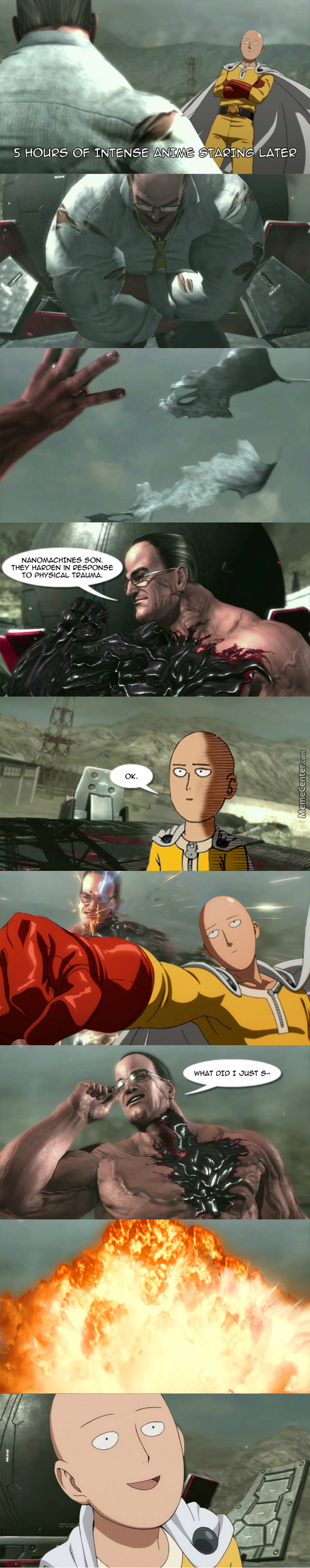 Nanomachines Are For Pussies Xd (Thanks To 'army And Stuff')