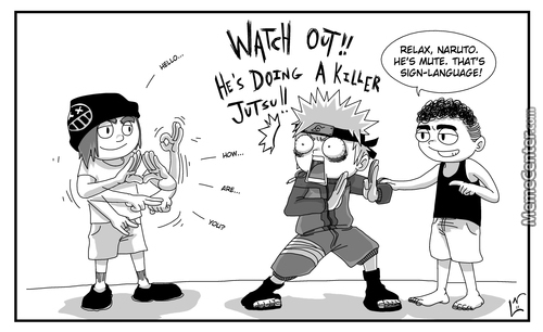 Naruto Has Trouble Adjusting To The Normal World