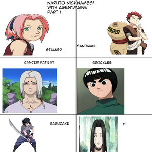 Naruto Nicknames Pt1 By Recyclebin