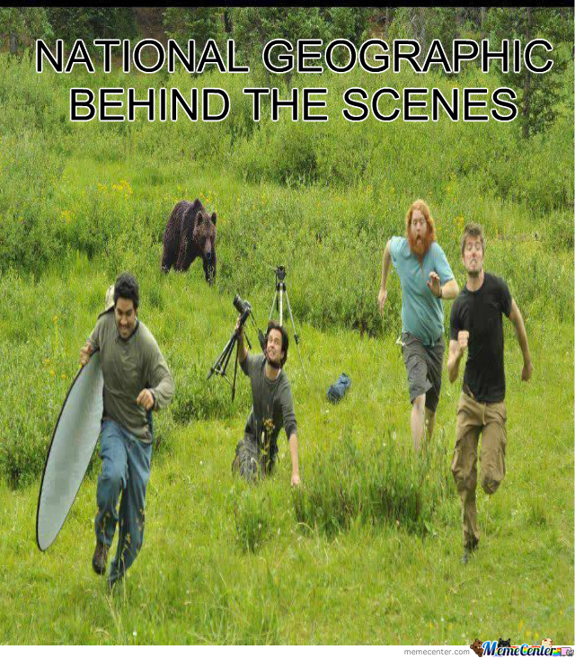 National Geographic Behind The Scenes