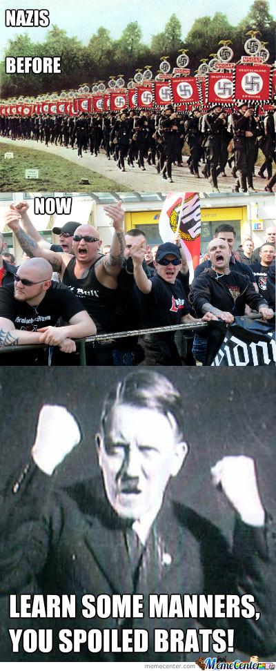 Nazis, Before And Now