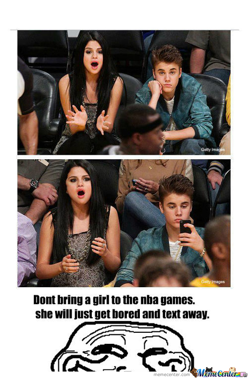 Nba Is Boredom For Some Female Like Bieber.