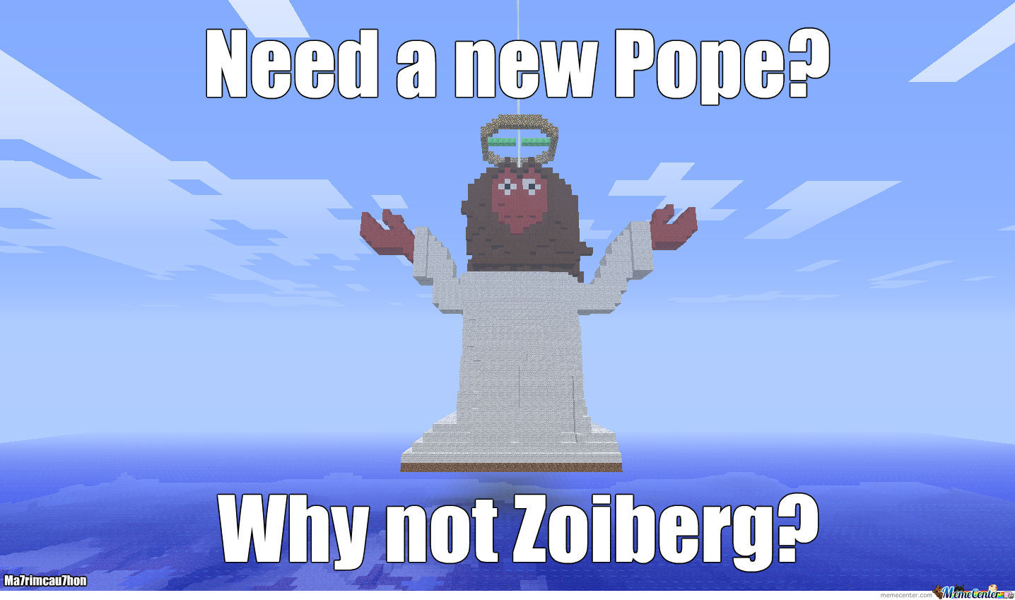 Need A Pope? Why Not Zoidberg
