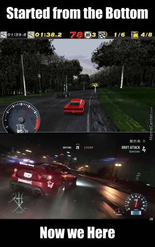 Need For Speed 1994-2015